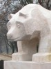 sandstone bear in Chełm